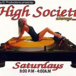 High Society Flyer
