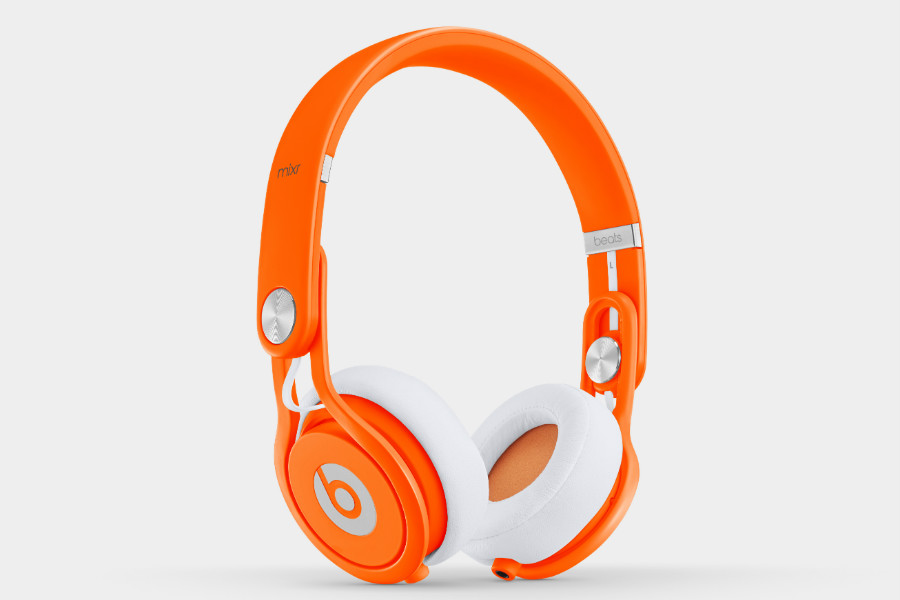 beats by dr. dre - mixr - neon-orange